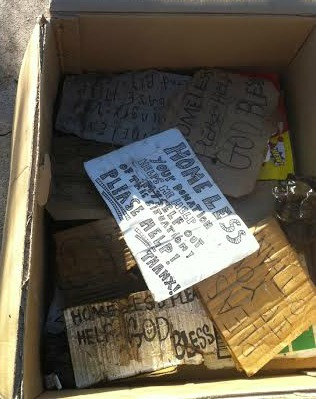 Homeless box